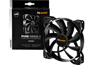 BE QUIET PURE WINGS 2 120mm PWM Lüfter, Schwarz