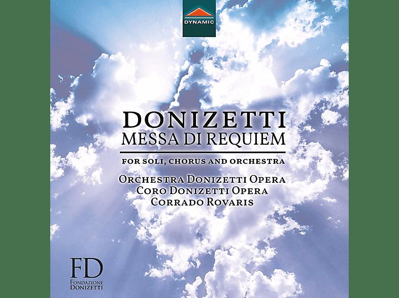 Remigio, Amaru, Gatell, Rovaris, Orchester Donizettiopera - Messa Di Requiem [CD]