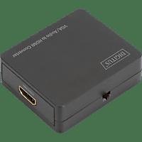 DIGITUS 4K HDMI Audio Extraktor, Schwarz