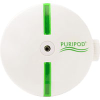 PURIPOD 2001086 Luftreiniger Weiß (4,5 Watt, Raumgröße: 20 m³)