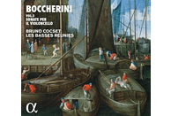Bruno Cocset, Les Basses Réunies - Boccherini Vol. 2 Sonate per il violoncello [CD]