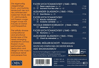 Müller-Schott/Shokhamikov/DSO Berlin - Trip to Russia - (CD)