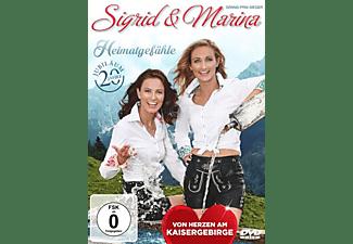 Sigrid & Marina - Heimatgefühle-Vom Herzen am Kaisergebirge  - (DVD)