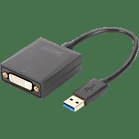 DIGITUS DA-70842 USB 3.0 auf DVI Video Adapter, Auflösung bis zu 1080p
