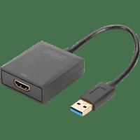 DIGITUS DA-70841 USB 3.0 auf HDMI Video Adapter, Auflösung bis zu 1080p
