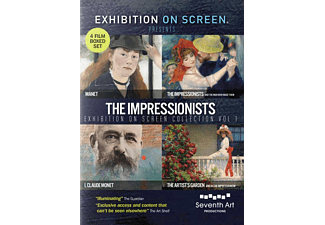 The Impressionists Exhibition on Screen Collection – Volume 1 - (DVD)
