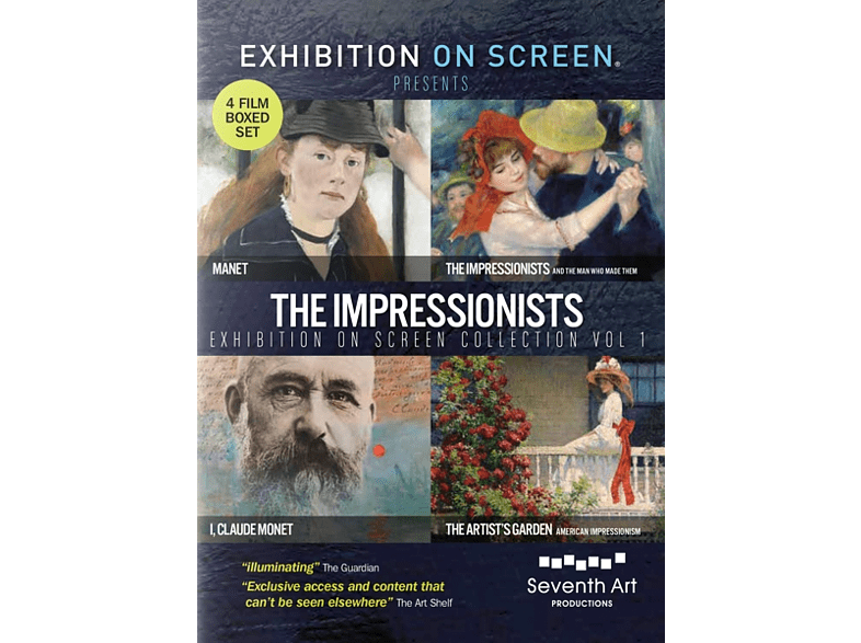 The Impressionists Exhibition on Screen Collection – Volume 1 [DVD]