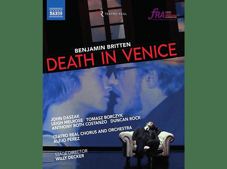 Daszak/Melrose/Pérez/TeatroRealChor & Orch/+ - Death in Venice [Blu-ray]