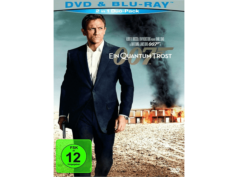 James Bond 007: Ein Quantum Trost [Blu-ray + DVD]