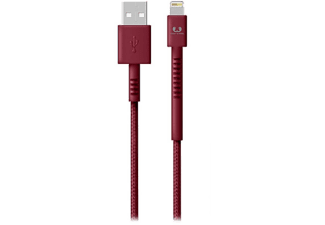 FRESH N REBEL Kabel USB - Lightning Fabriq 3 m Ruby (2LCF300RU)