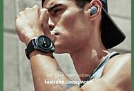SAMSUNG  Galaxy Watch 46 mm Bluetooth Smartwatch Edelstahl, Silikon, S, L, Silber