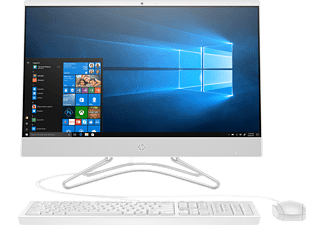 "HP 24-f0004nz - PC all-in-one (23.8 "", 1 TB HDD, Bianco)"