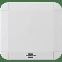 BRENNENSTUHL Brematic Pro Funk-Temperatur- und Feuchtigkeitssensor, Weiss