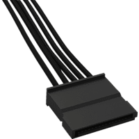 BE QUIET CS-6610 SATA Kabel, Schwarz