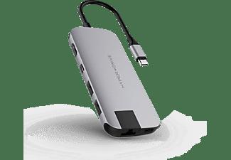 HYPER Slim USB-C Hub Grijs