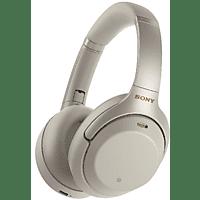 SONY Bluetooth Kopfhörer WH-1000XM3 mit Geräuschminimierung, silber