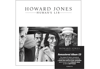 Howard Jones - Human's Lib ( Remastered+Expanded Edition) - (CD)