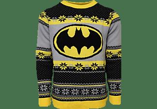 Batman Logo Xmas Pullover XL