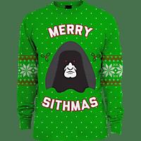 NUMSKULL Merry Sithmas Xmas Pullover S Pullover, Grün
