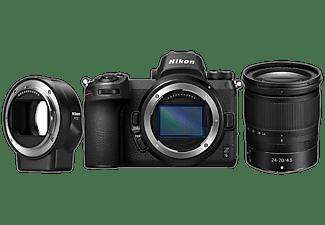 NIKON Hybride camera Z6 4K + 24-70 mm + FTZ-vattingadapter
