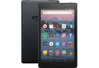 AMAZON Fire HD 8, Tablet, 16 GB, 8 Zoll, Schwarz