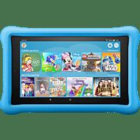 AMAZON Fire HD 8 Kids Edition, Tablet , 32 GB, 8 Zoll, Schwarz mit blaue kindgerechte Hülle