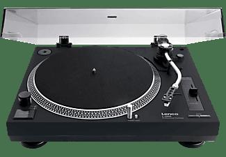 LENCO Plattenspieler L-3808, schwarz