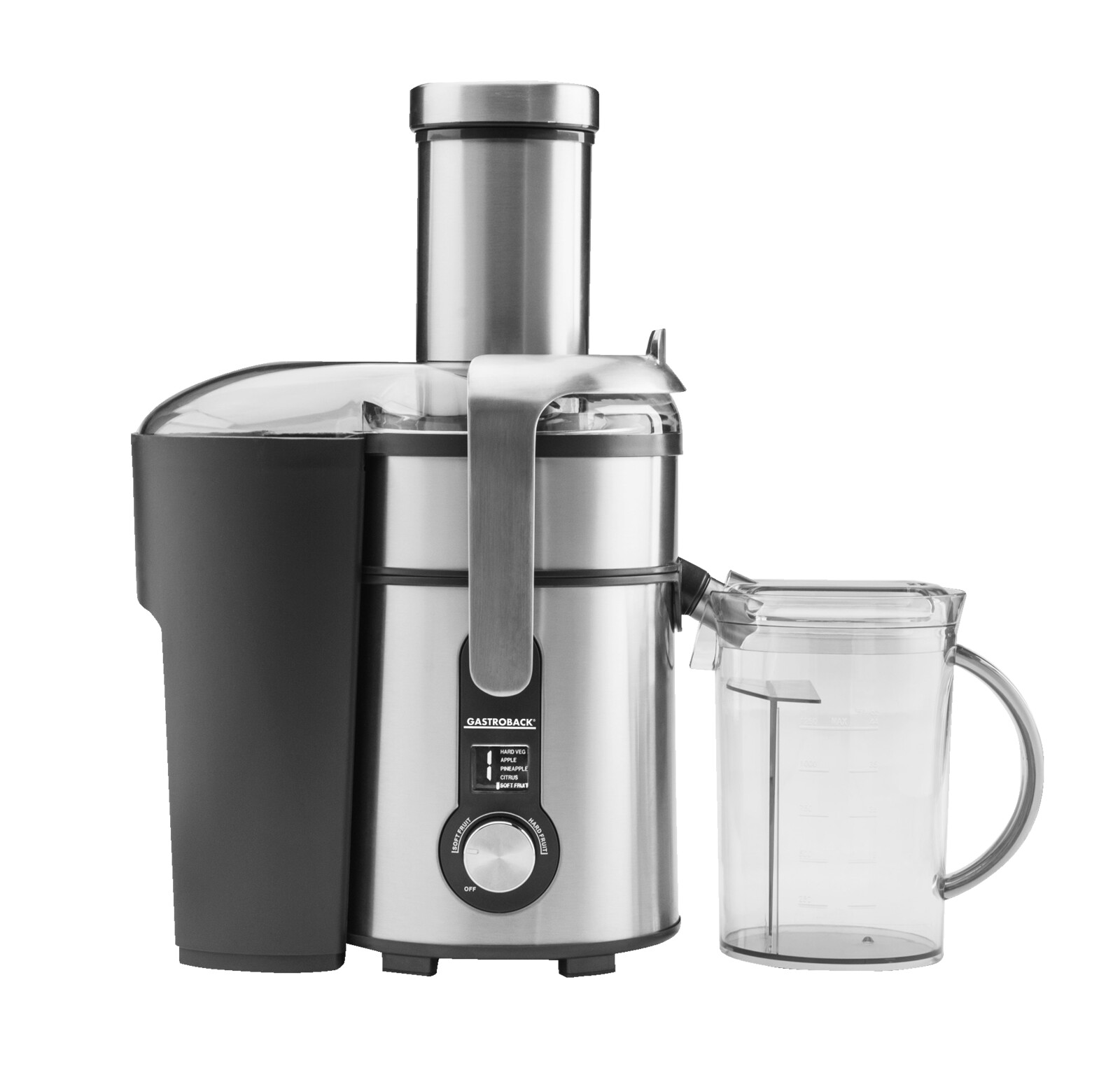 Gastroback 1300W Digital Multi Juicer Edestahl (40152