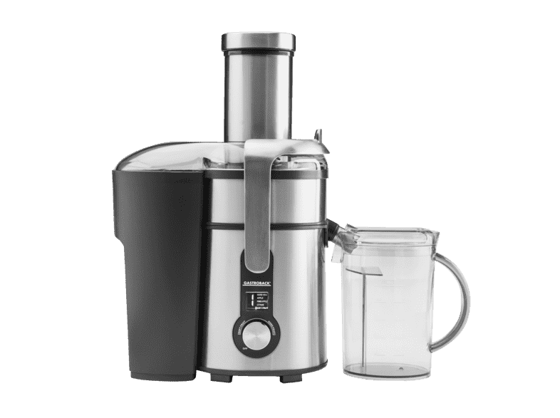 GASTROBACK 40151 Design Multi Juicer Digital, Entsafter, EdelstahlSchwarz