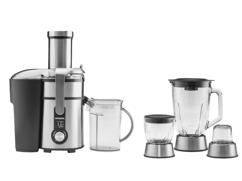 GASTROBACK 40152 Design Multi Juicer Digital Plus, Entsafter, Edelstahl