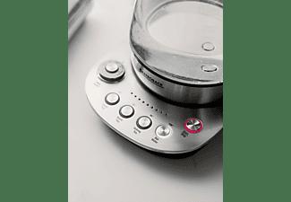 GASTROBACK 42434 Design Tea Aroma Plus Teekocher (1400 Watt , Edelstahl/Schwarz)
