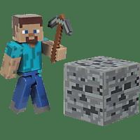 AMS Minecraft Sammelfigur Steve Sammelfigur, Mehrfarbig