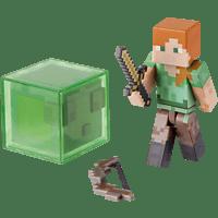 AMS Minecraft Sammelfigur Alex mit Figur, Mehrfarbig