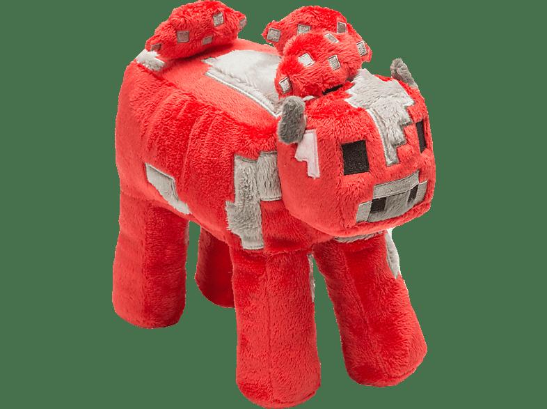 AMS Minecraft Plüsch Happy Pilzkuh Plüschfigur, Mehrfarbig