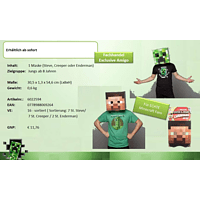 AMS Minecraft Box Heads , Mehrfarbig