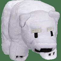AMS Minecraft Plüsch Baby PolarBär Plüschfigur, Mehrfarbig