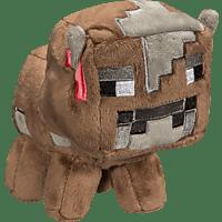 AMS Minecraft Plüsch Baby Kuh Plüschfigur, Mehrfarbig