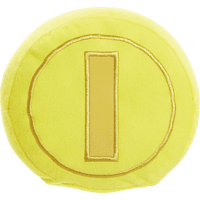 AMS Nintendo Gold Coin 13cm Plüschfigur, Gelb