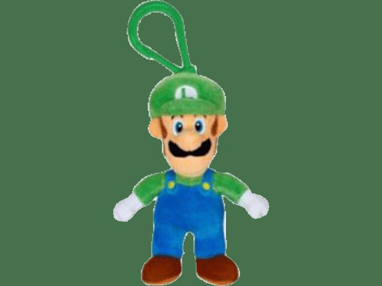 JAKKSPACIFIC Nintendo Mario Plüsch Anhänger Plüschfigur, Mehrfarbig