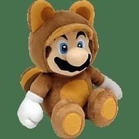 AMS Nintendo Tanooki Mario 22cm Plüschfigur, Mehrfarbig