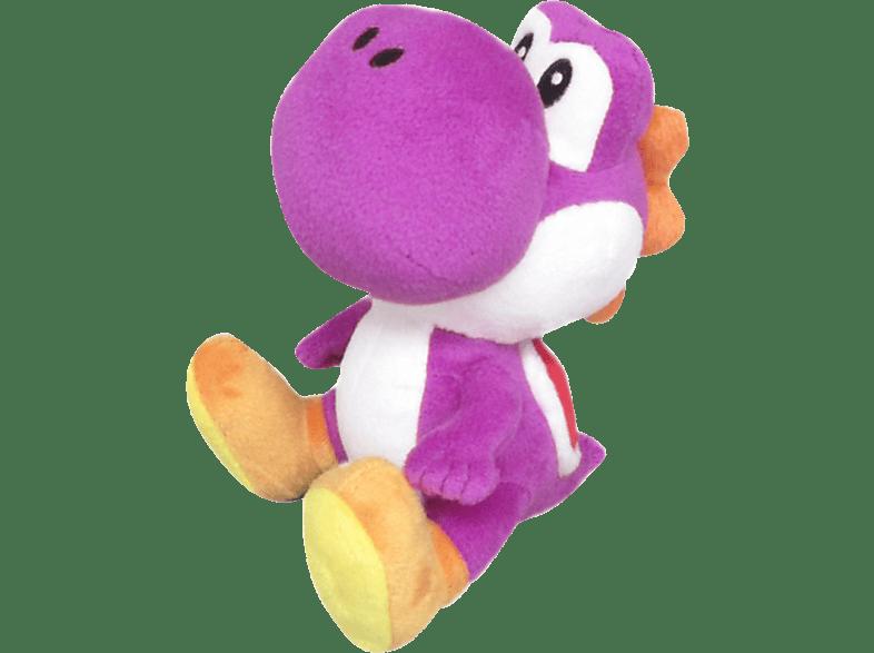 AMS Nintendo Yoshi 17cm Lila Plüschfigur, Lila/Mehrfarbig
