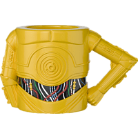 AMS C3PO Tasse Torso Arm Tasse, Mehrfarbig