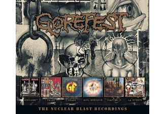 Gorefest - The Nuclear Blast Recordings (6CD Box) - (CD)