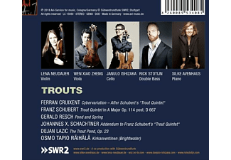 Neudauer,Lena/Zheng,When-Xiao/Ishizaka,Danjulo/+ - Trouts  - (CD)