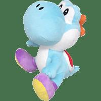 AMS Nintendo Yoshi 17cm Himmelblau Plüschfigur, Himmelbau/Mehrfarbig