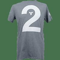 AMS Destiny 2 Icon T-Shirt L T-Shirt, Grau