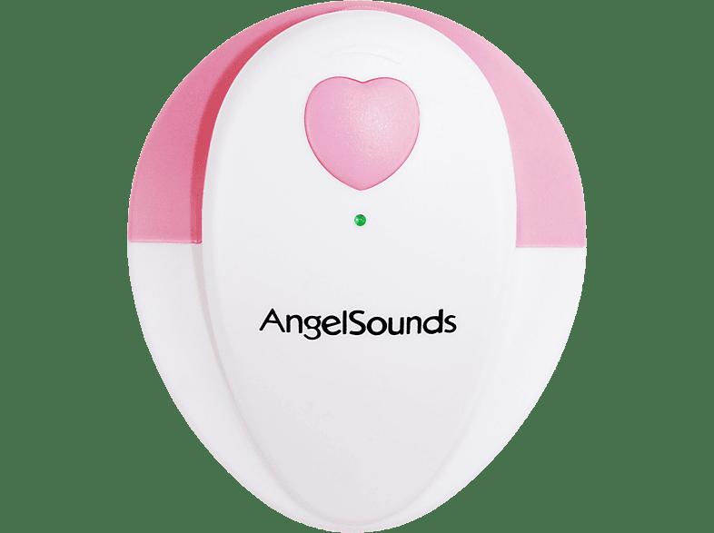 ANGELSOUNDS JPD-100S Fetal Doppler Rosa/Weiß
