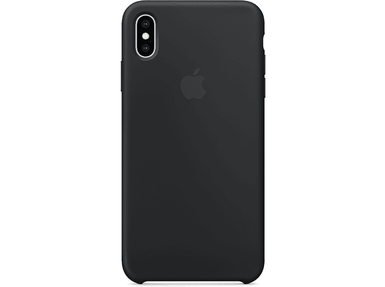 APPLE Cover Silicone iPhone XS Max Zwart (MRWE2ZM/A)