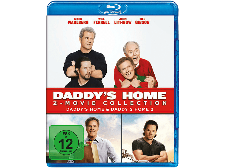 Daddy's Home 1+2 [Blu-ray]