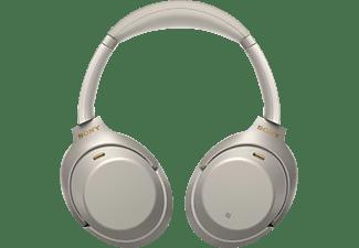 SONY WH-1000XM3 Noise Cancelling, Over-ear Kopfhörer Bluetooth Silber